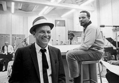 Sinatra-and-quincy-jones-1964-recording-session-1-copyright-frank-sinatra-enterprises-f40-1