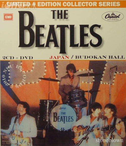 The-beatles-live-budokan-hall-japan-2cd-+-dvd-combo-e2686