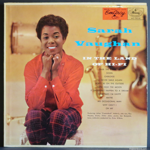 Sarah-vaughan-in+the+land+of+hi+fi-front+cover-lp