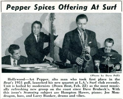 Art+Pepper+Quartet+Surf+Club