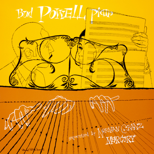 1950+Bud+Powell+Piano+2+10-+LP