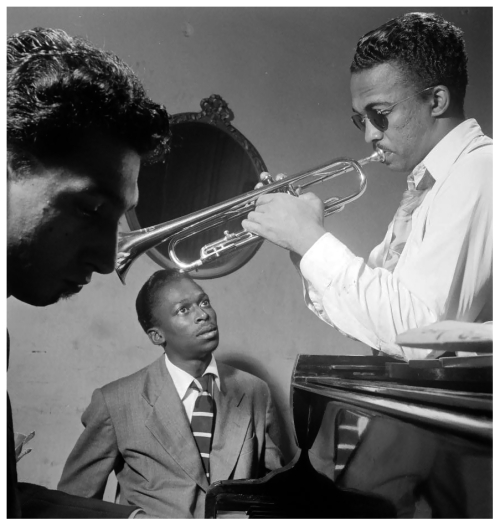 Howard-mcghee-and-miles-davis-new-yorkphoto-william-p-gottlieb-1947