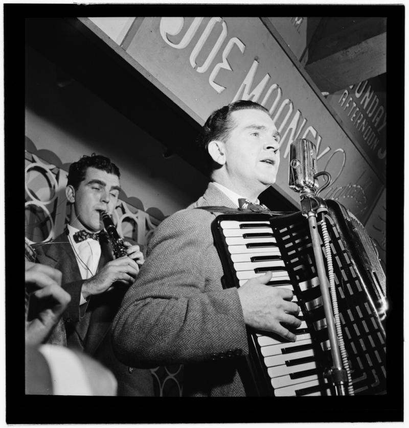 Joe_Mooney_and_Andy_Fitzgerald _New_York _N.Y. _ca._Oct._1946_(William_P._Gottlieb_01411)