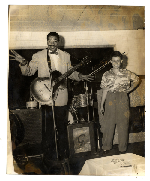 Slim Gaillard and Aurin Primack--c 1951