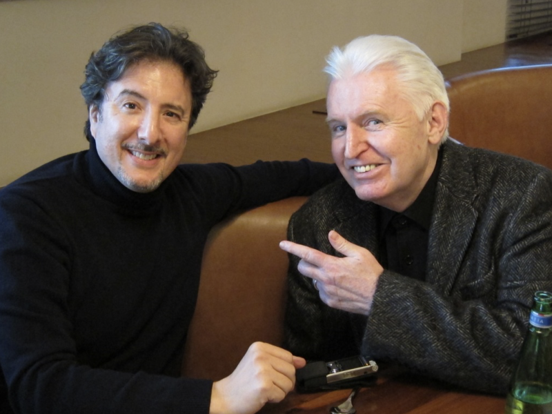 Marc Myers and Mike McCartney in Liverpool 2012