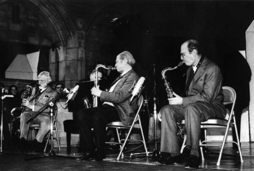 Zoot_Sims_with_Gerry_Mulligan_&_Al_Cohn _Church_of_the_Heavenly_Rest_New_York_City _January_13 _1985