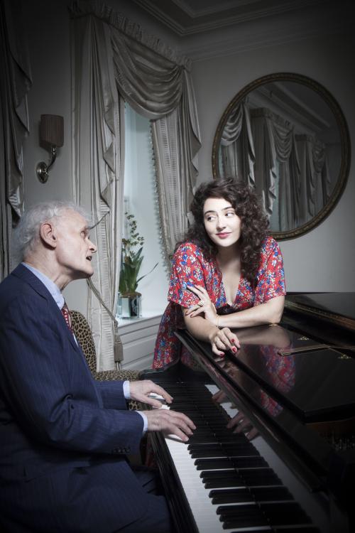 Tatiana and Terry piano